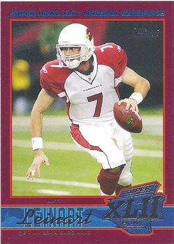 2008 Topps Arizona Cardinals Super Bowl XLII Card Show #2 Matt Leinart Front