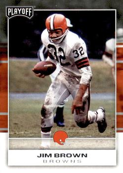 2017 Panini Playoff #118 Jim Brown Front