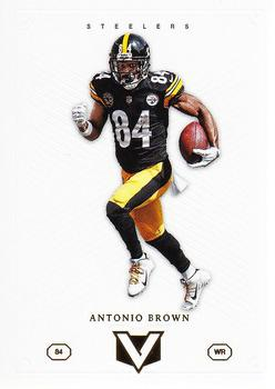 2017 Panini Vertex #44 Antonio Brown Front