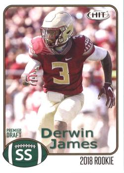 2018 SAGE HIT #4 Derwin James Front
