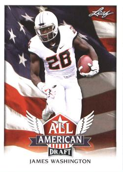 2018 Leaf Draft - All American #AA-06 James Washington Front