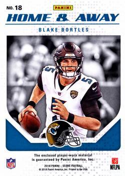 431c7b31e 2018 Score - Home and Away Jerseys  18 Blake Bortles Back · « · ‹