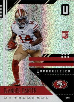 2018 Panini Unparalleled #175 DeAndre Carter Front