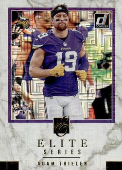 Amerikaans voetbal 2018 Panini Contenders Optic #38 Adam Thielen Minnesota Vikings Football Card