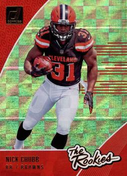 2018 Donruss - The Rookies #R-8 Nick Chubb Front