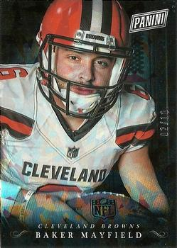 2018 Black Friday Football - Panini Collection Cracked Ice #BM Baker Mayfield Front