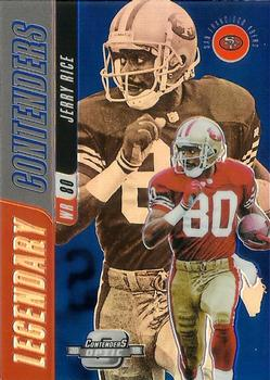 2018 Panini Contenders Legendary Contenders #LC-JR Jerry Rice San Francisco 49ers Football Card