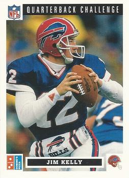 1991 Domino's The Quarterbacks #2 Jim Kelly Front