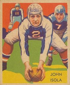 1935 National Chicle #26 John Dell Isola Front