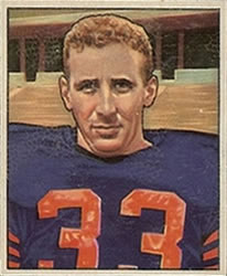 1950 Bowman #98 Fred Morrison Front