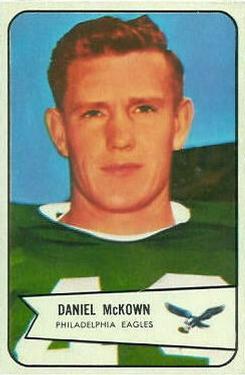 1954 Bowman #93 Daniel McKown Front