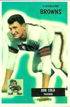 1955 Bowman #159 Don Colo Front