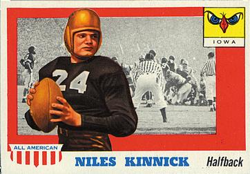 1955 Topps All-American #6 Nile Kinnick Front