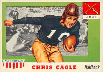 1955 Topps All-American #95 Chris Cagle Front