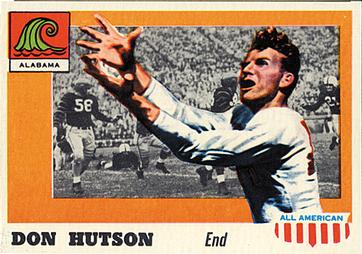 1955 Topps All-American #97 Don Hutson Front