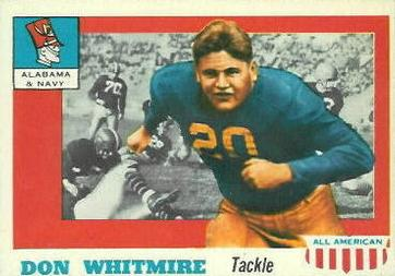 1955 Topps All-American #99 Don Whitmire Front