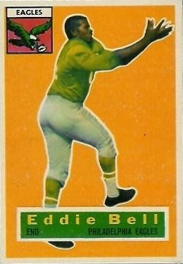 1956 Topps #4 Eddie Bell Front