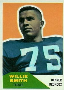 1960 Fleer #47 Willie Smith Front