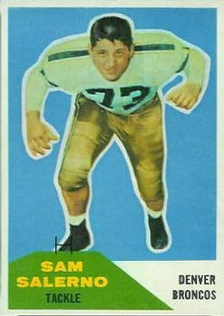 1960 Fleer #6 Sam Salerno Front