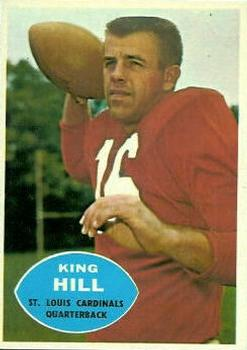 1960 Topps #103 King Hill Front