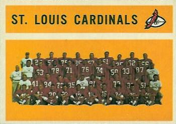 1960 Topps #112 St. Louis Cardinals Front