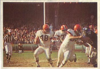 1966 Philadelphia #52 Browns vs Giants Front