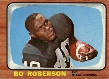 1966 Topps #83 Bo Roberson Front