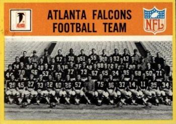 1967 Philadelphia #1 Atlanta Falcons Front