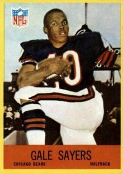 1967 Philadelphia #35 Gale Sayers Front
