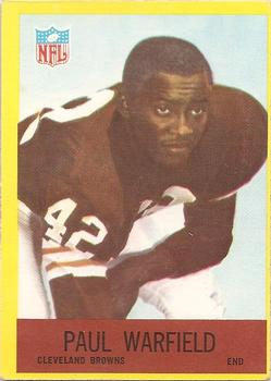 1967 Philadelphia #46 Paul Warfield Front