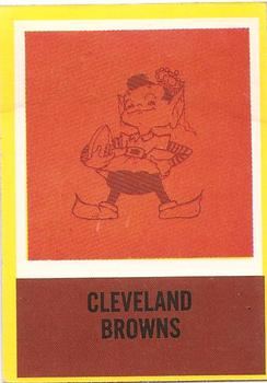 1967 Philadelphia #48 Browns Insignia Front