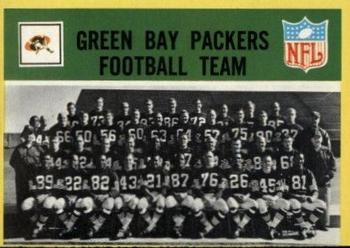 1967 Philadelphia #73 Green Bay Packers Front