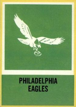 1967 Philadelphia #144 Eagles Insignia Front