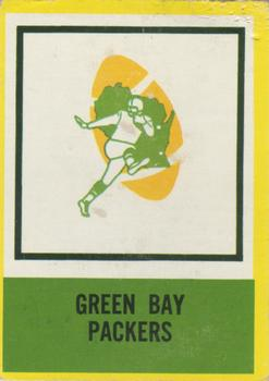 1967 Philadelphia #84 Packers Insignia Front