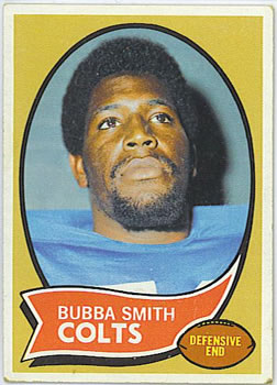 1970 Topps #114 Bubba Smith Front