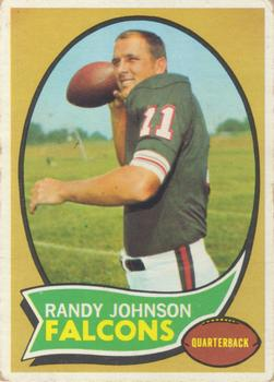 1970 Topps #126 Randy Johnson Front