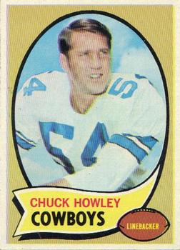 1970 Topps #228 Chuck Howley Front