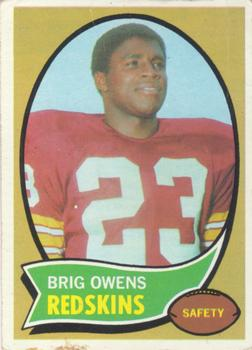1970 Topps #69 Brig Owens Front