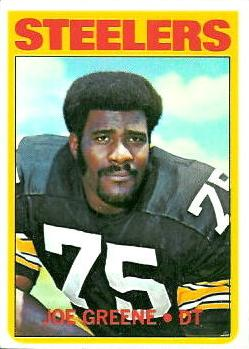 1972 Topps #230 Joe Greene Front