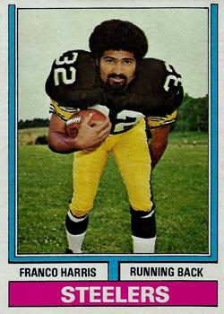 1974 Topps #220 Franco Harris Front