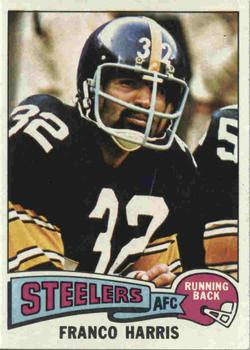 1975 Topps #300 Franco Harris Front