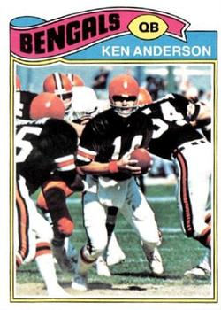 1977 Topps #235 Ken Anderson Front