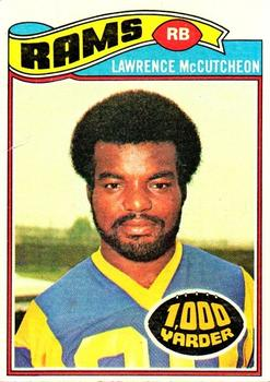 1977 Topps #375 Lawrence McCutcheon Front
