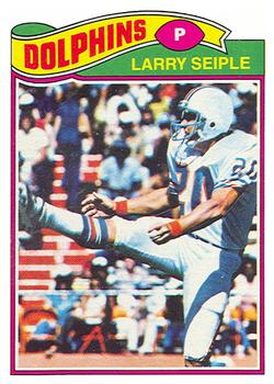 1977 Topps #436 Larry Seiple Front