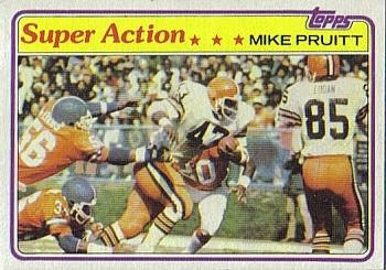 1981 Topps #441 Mike Pruitt Front