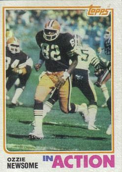 1982 Topps #68 Ozzie Newsome Front