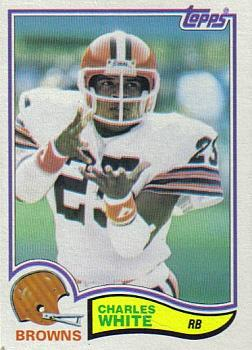 1982 Topps #75 Charles White Front