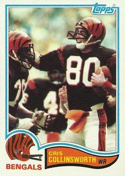 1982 Topps #44 Cris Collinsworth Front