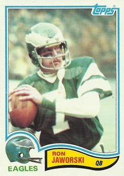 1982 Topps #447 Ron Jaworski Front