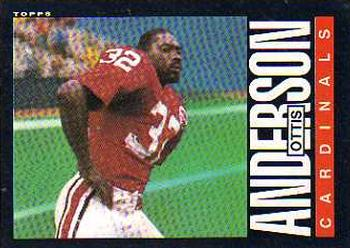 1985 Topps #138 Ottis Anderson Front